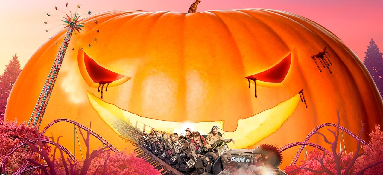 Halloween Walibi Rhone Alpes 2021.Attractions Halloween Walibi Rhone Alpes